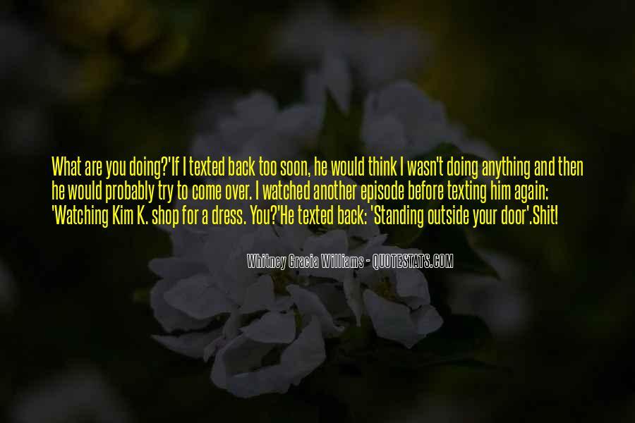 Take Him Back Quotes #265596