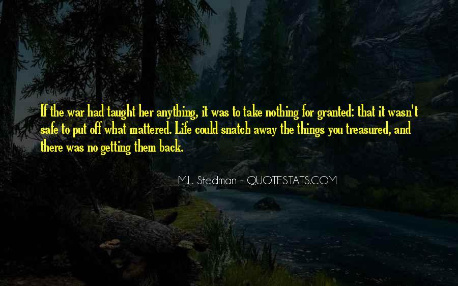 Take It Away Quotes #130679