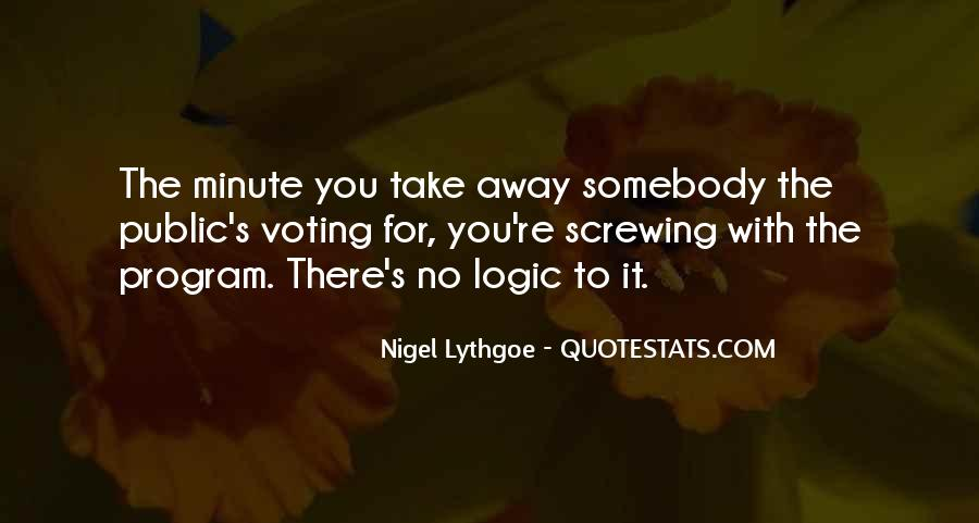 Take It Away Quotes #145160