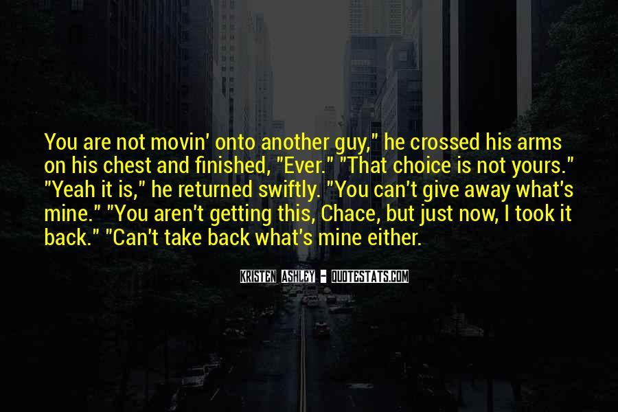 Take It Away Quotes #40053