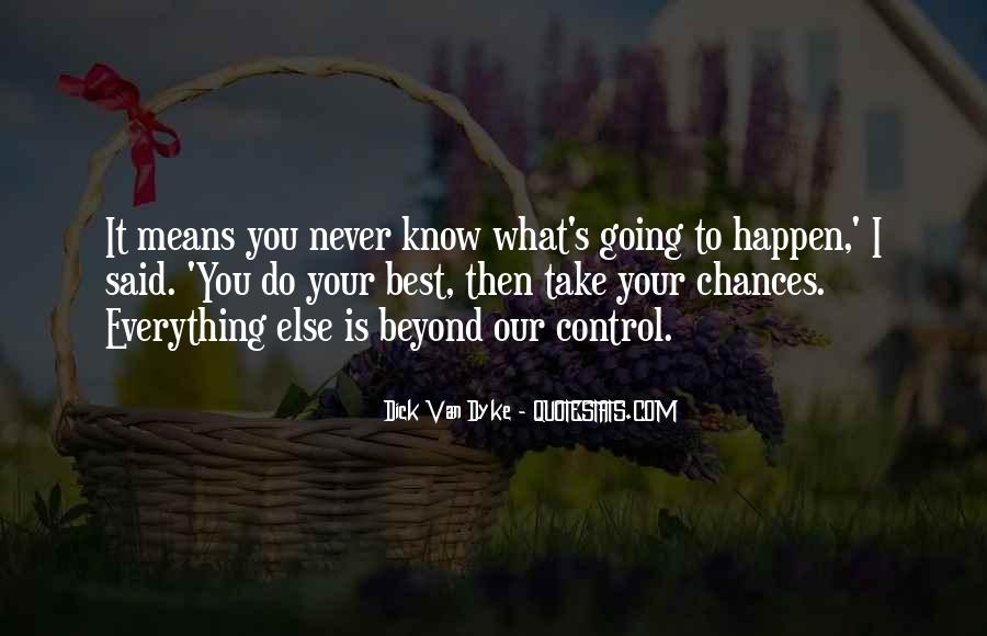 Take More Chances Quotes #97391