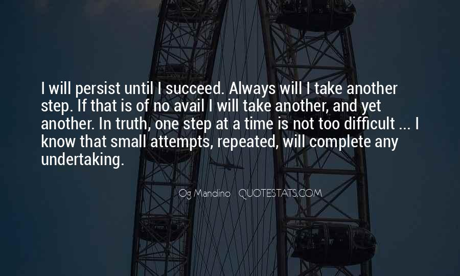 Take One Step At A Time Quotes #1514975