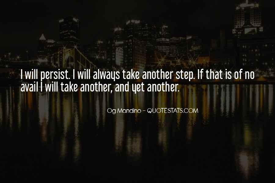 Take One Step At A Time Quotes #1763701