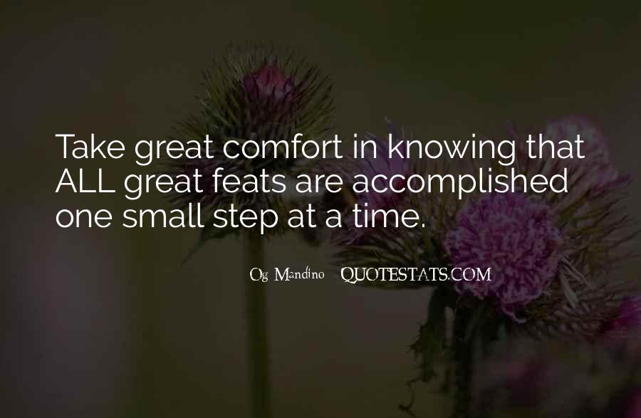 Take One Step At A Time Quotes #936831