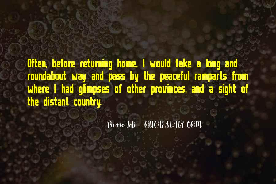Take The Long Way Home Quotes #191826