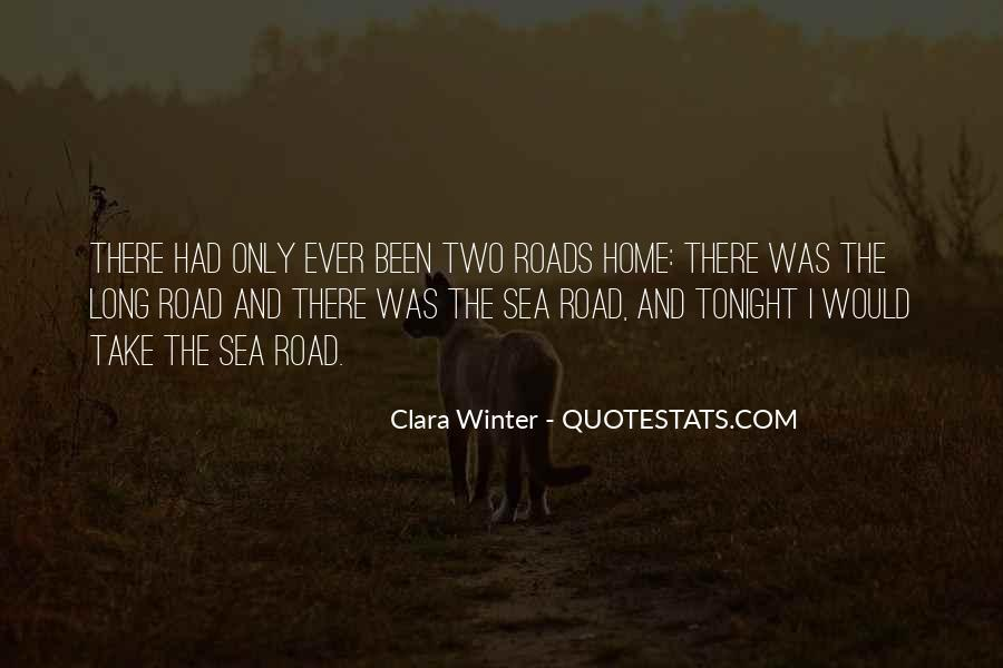 Take The Long Way Home Quotes #55425