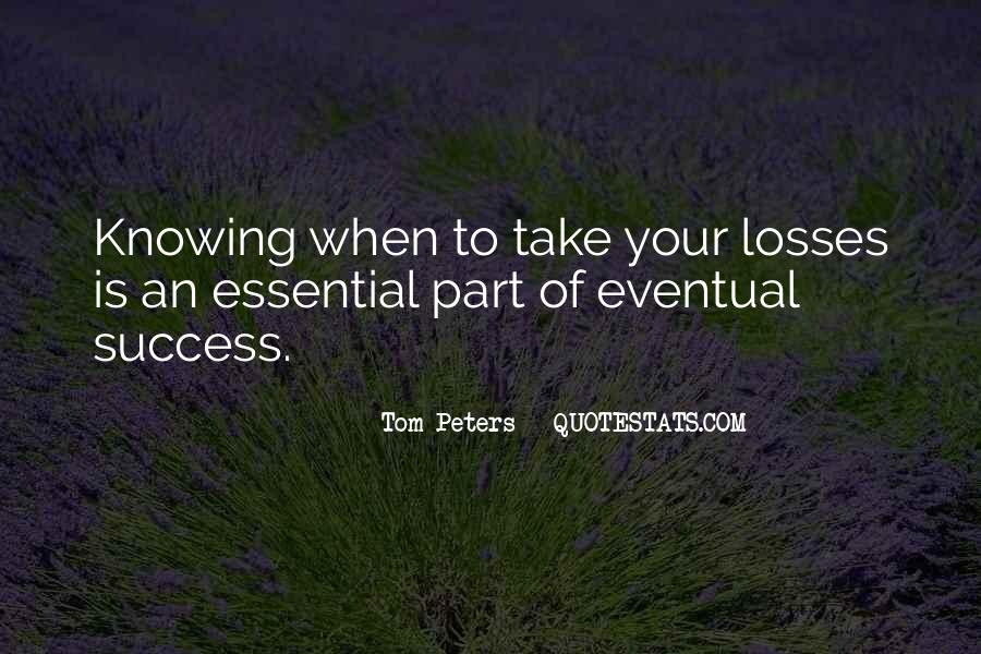 Take Your Losses Quotes #1212479