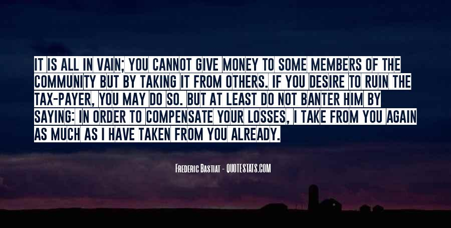 Take Your Losses Quotes #1847113