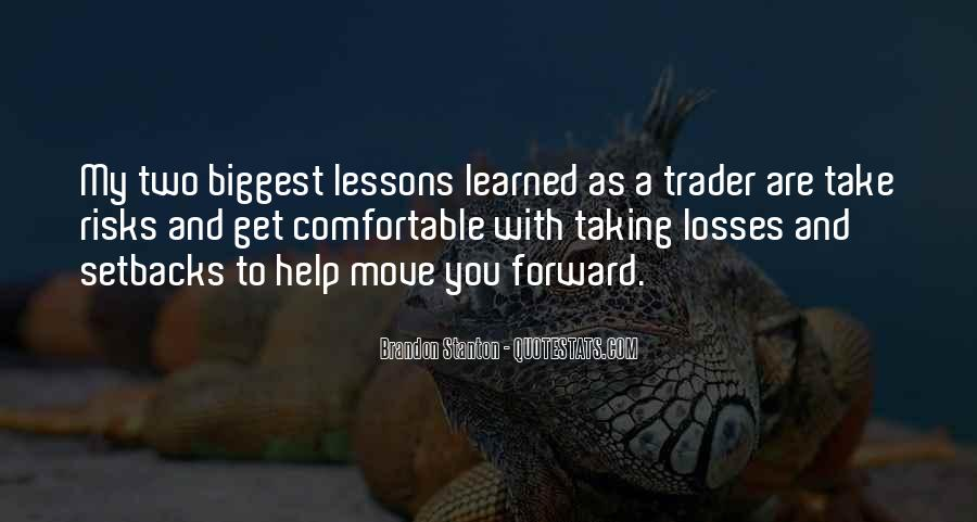 Take Your Losses Quotes #458031