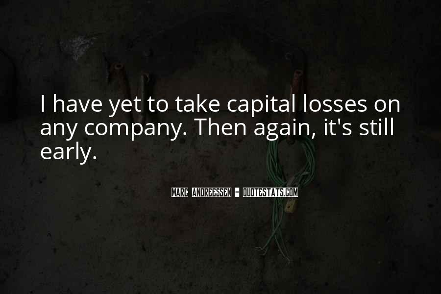 Take Your Losses Quotes #924215