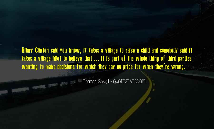Takes A Village To Raise A Child Quotes #928688