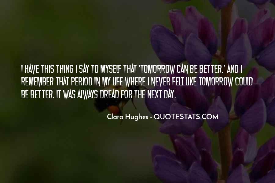 Quotes About Clara Hughes #1001422