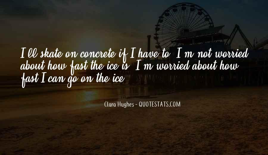 Quotes About Clara Hughes #1138302