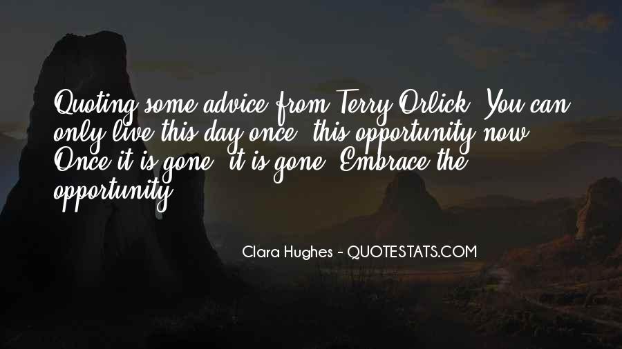 Quotes About Clara Hughes #1143932