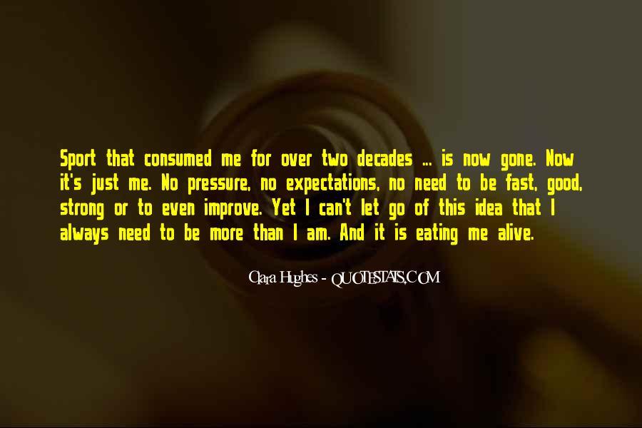 Quotes About Clara Hughes #454771
