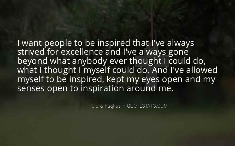 Quotes About Clara Hughes #719304