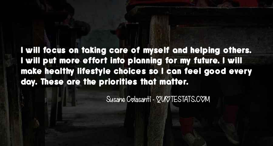 Taking Care Myself Quotes #1358803