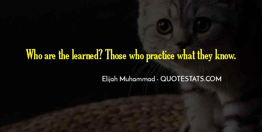 Quotes About Elijah Muhammad #1721290