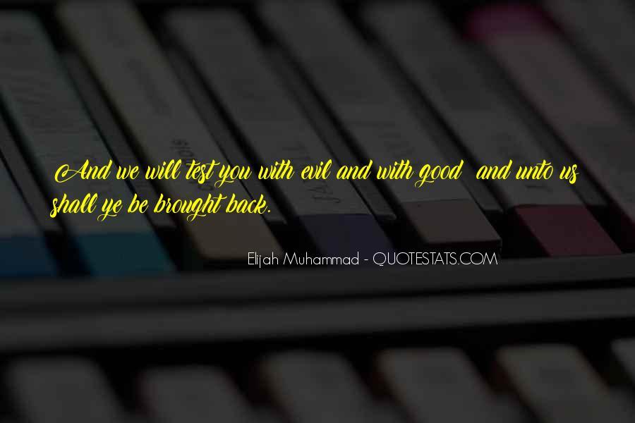 Quotes About Elijah Muhammad #510654