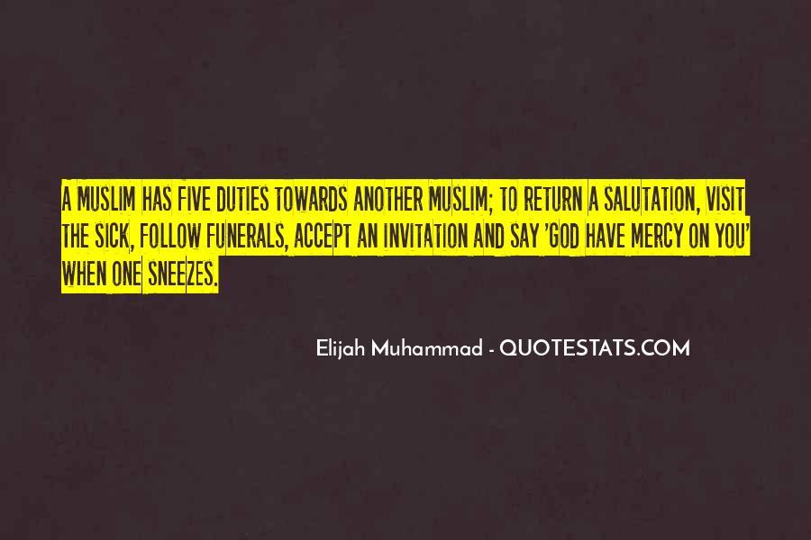 Quotes About Elijah Muhammad #536480