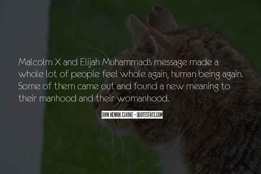 Quotes About Elijah Muhammad #847797