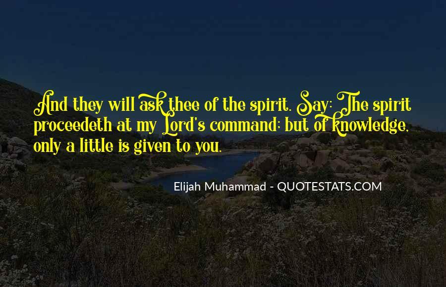 Quotes About Elijah Muhammad #934212