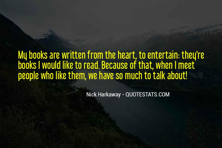 Talk From The Heart Quotes #1317006