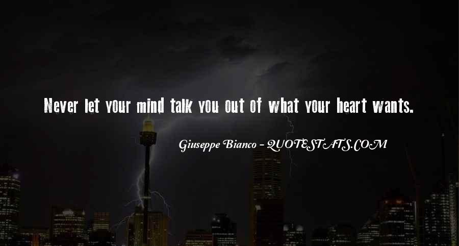 Talk From The Heart Quotes #134447