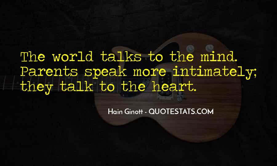 Talk From The Heart Quotes #224832