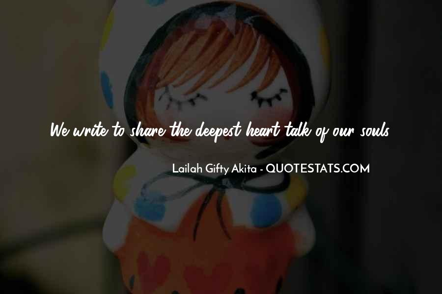 Talk From The Heart Quotes #347035