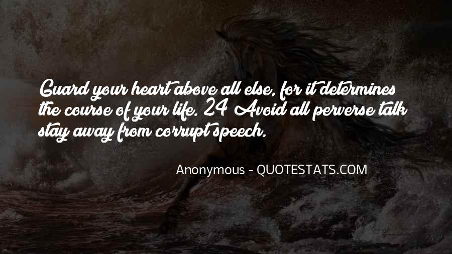 Talk From The Heart Quotes #576137