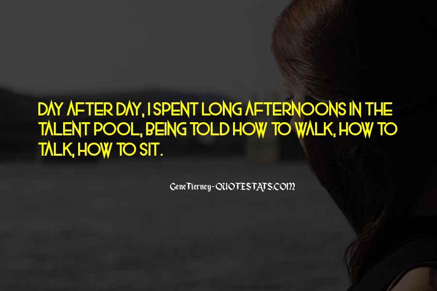 Talk The Walk Quotes #364785