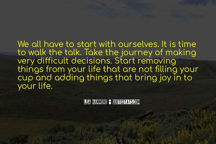 Talk The Walk Quotes #413