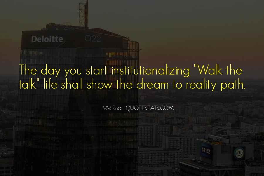 Talk The Walk Quotes #481435