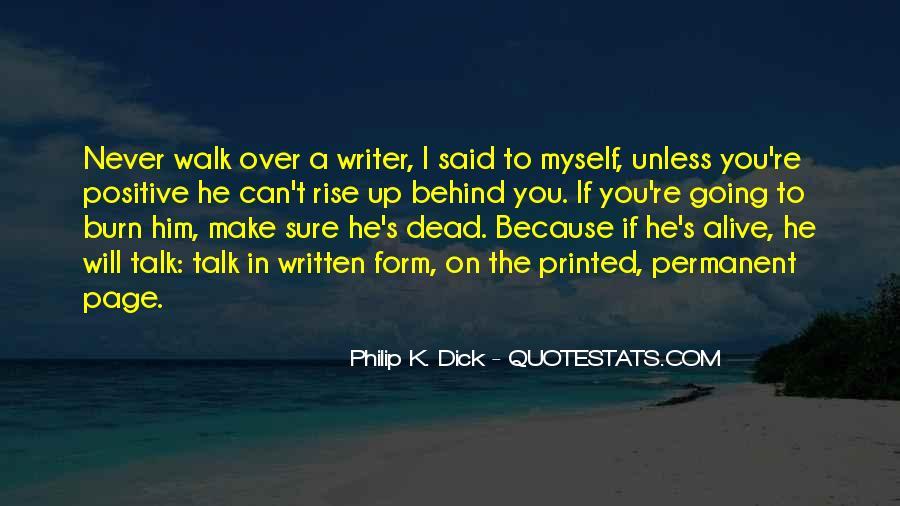 Talk The Walk Quotes #675271