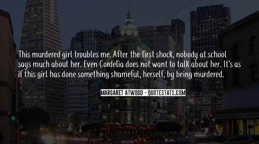 Talk To Her First Quotes #1634032