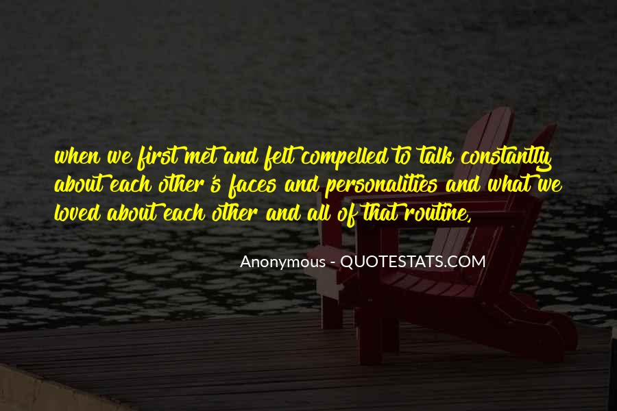 Talk To Her First Quotes #212857