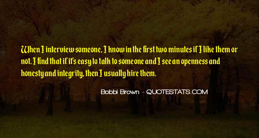 Talk To Her First Quotes #217333