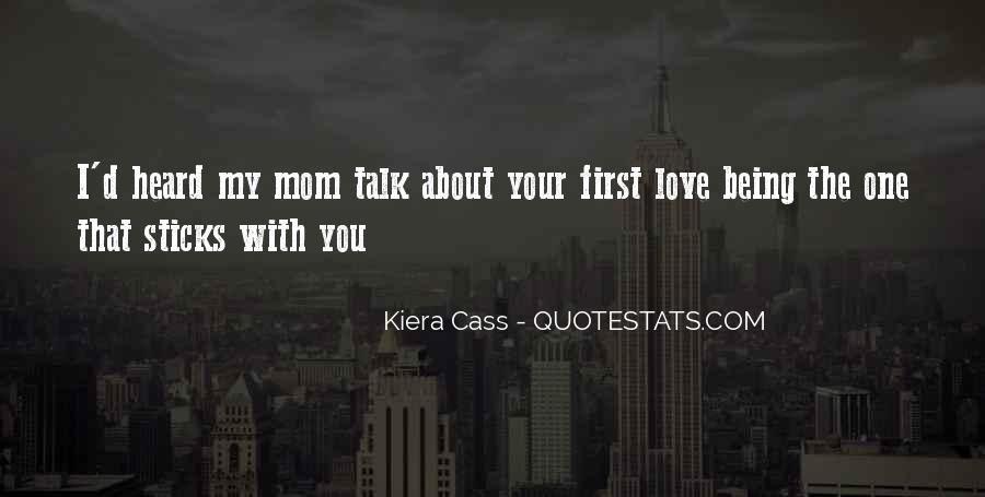 Talk To Her First Quotes #241666