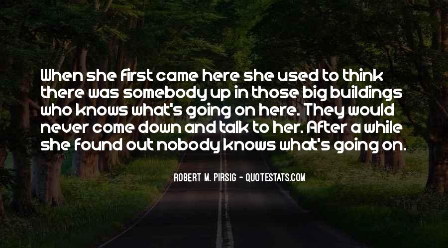 Talk To Her First Quotes #747166