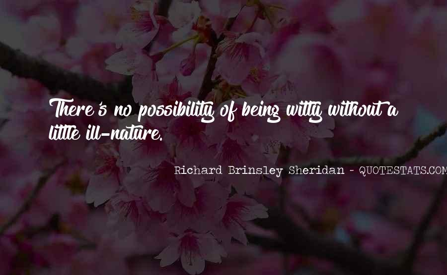 Quotes About Being Outside In Nature #105586