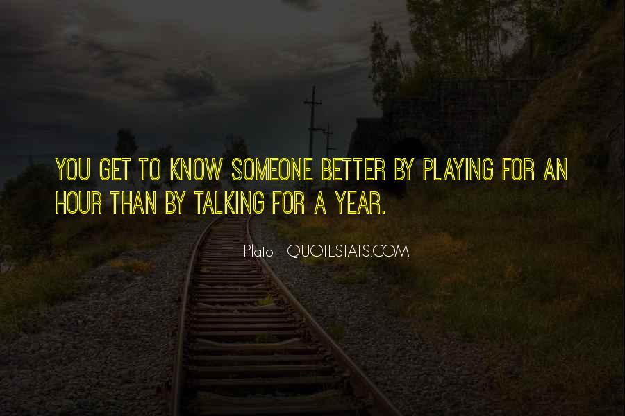 Talking To You For Hours Quotes #318719