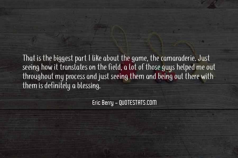 Quotes About Eric Berry #1380737