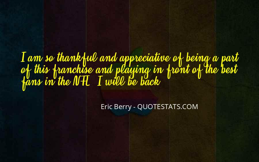 Quotes About Eric Berry #344046