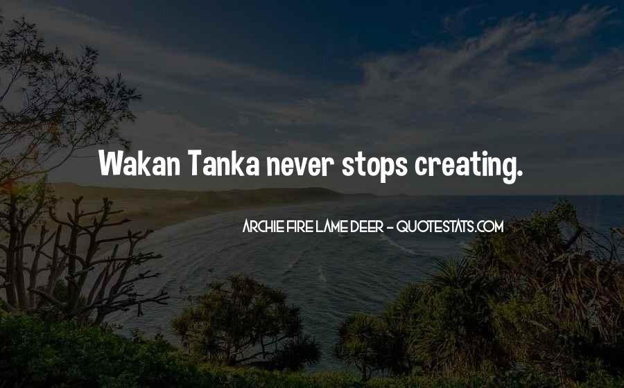 Tanka Quotes #600400
