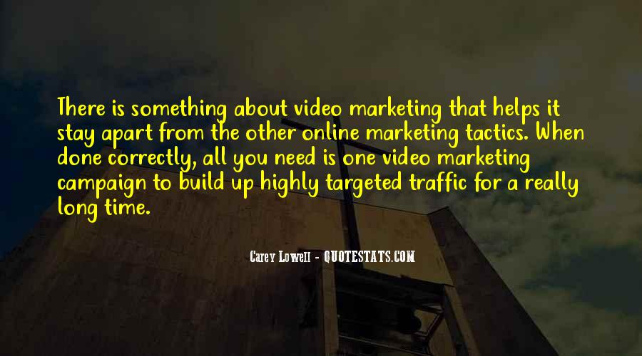 Targeted Marketing Quotes #1569801