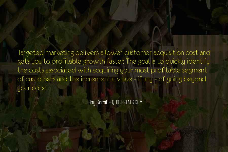 Targeted Marketing Quotes #502605