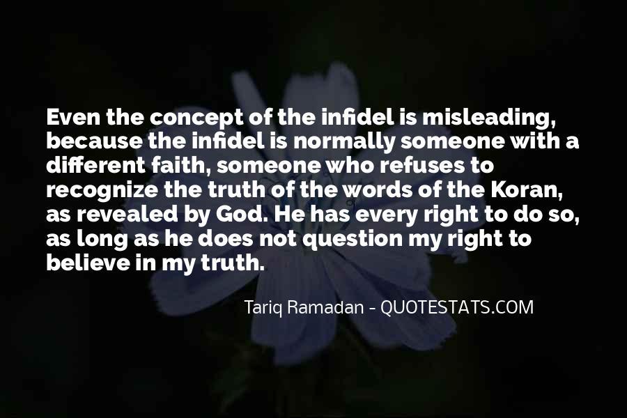 Tariq Ramadan What I Believe Quotes #1326899