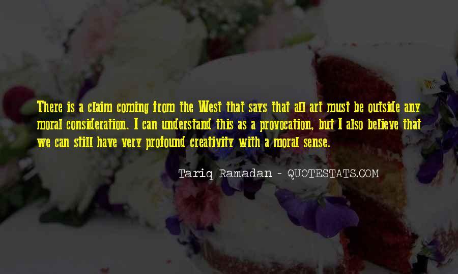 Tariq Ramadan What I Believe Quotes #1604126
