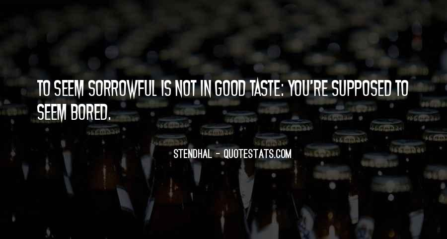 Taste You Quotes #134985